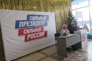 С 9 января в поддержку Владимира Путина в Каменске-Уральском собрали 587 подписей