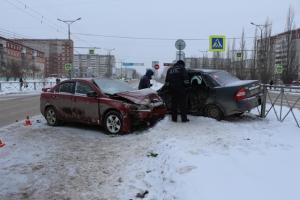 23 марта в Каменске-Уральском в ДТП пострадали два человека