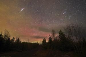 В предстоящие выходные жители Каменска-Уральского смогут наблюдать первый весенний звездопад - Лириды
