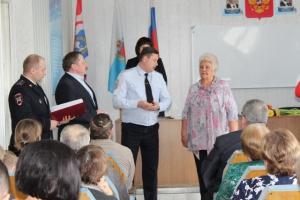 В Каменске-Уральском, как и во всей области, учредили новую награду, как для сотрудниц полиции, так и для жен стражей порядка