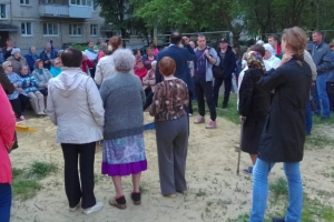 В Каменске-Уральском проверили, как идет ход благоустройства дворов