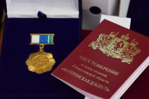 Еще двух каменских мам губернатор Свердловской области Евгений Куйвашев наградил знаком отличия «Материнская доблесть»