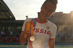 И на втором этапе легендарной серии по плаванию Mare Nostrum Дарья Устинова из Каменска-Уральского взяла серебро