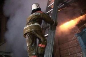 Вчера горел частный жилой дом в деревне Часовая, что под Каменском-Уральским