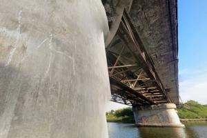 Какие еще работы успеют сделать в этом году при ремонте Байновского моста в Каменке-Уральском