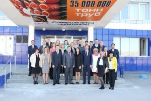 Руководители трубного завода из Каменска-Уральского успешно прошли еще один этап программы «Управление персоналом на металлургических предприятиях»
