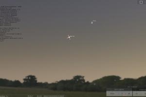 Жители Каменска-Уральского сегодня вечером смогут наблюдать на небе красивую пару Луна-Юпитер