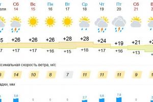 Жаркая погода еще долго не будет покидать Каменск-Уральский. Как минимум, до конца июля