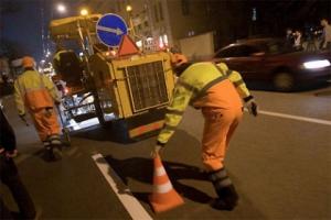 С начала года в Каменске-Уральском установили 144 дорожных знака и сделали горизонтальной разметки дорог почти на 68 километров