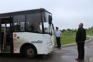 Сотрудники ГИБДД в Каменске-Уральском и районе устроили проверку водителей автобусов