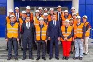 Трубный завод в Каменске-Уральском посетили руководители предприятия «Уральские локомотивы»