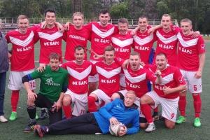 «Барс» за два тура до конца турнира стал чемпионом Каменска-Уральского по футболу