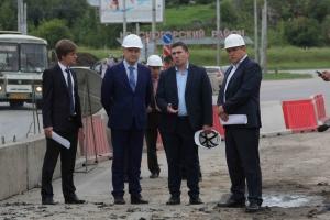 Полпреду Президента России намекнули на строительство нового моста через Исеть в Каменске-Уральском