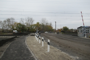 В Каменске-Уральском завершаются ремонтные работы в районе железнодорожного переезда «93 километр»