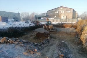 В поселке Первомайский в Каменске-Уральском активно идет строительство новой котельной
