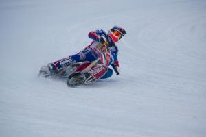 Гонщики, представляющие Каменск-Уральский, достойно выступили на гостевых этапах полуфинала личного чемпионата России по ледовому спидвею