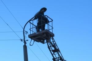 За полтора месяца от жителей Каменска-Уральского 500 заявок коммунальщикам по поводу наружного освещения