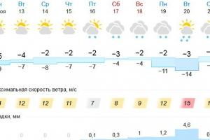 Первый полноценный снегопад следует ждать в Каменске-Уральском только через неделю
