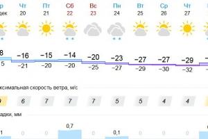 Каменску-Уральскому предстоит пережить одну из самых холодных недель года