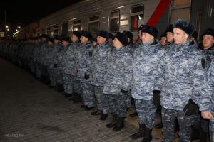 Полицейские Каменска-Уральского вернулись из служебной командировки на Северном Кавказе