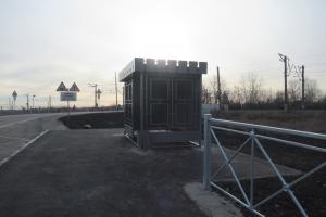Завершен ремонт дороги в районе железнодорожного переезда «93 километр» в Каменске-Уральском