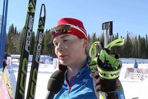 Тамара Воронина из Каменска-Уральского завоевала серебро на втором этапе Кубка России по биатлону
