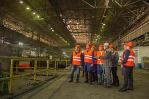 Металлургия на практике: на Синарском трубном заводе побывали студенты каменского филиала Уральского федерального университета